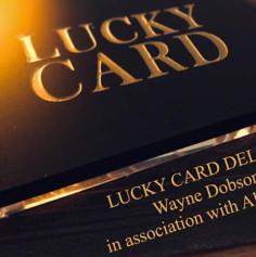 LUCKY CARD (carta de la...