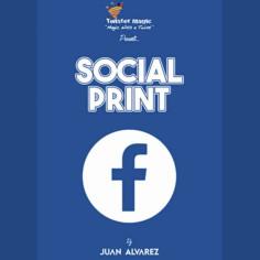 SOCIAL PRINT (L. DiCaprio -...