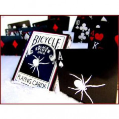 Black Spider Deck- Bicycle