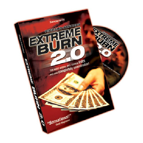 EXTREME BURN 2.0 (GIMMICK+DVD)-...