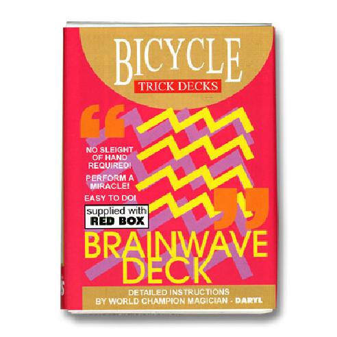 BARAJA BICYCLE BRAINWAVE TAMAÑO POKER