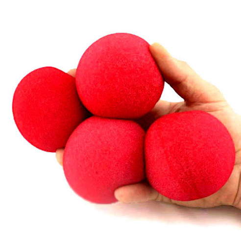 3 inch Super Soft Sponge Ball (Red)...