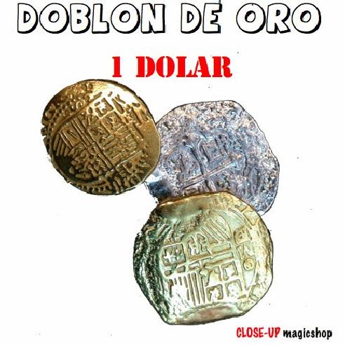 DOBLÓN DE ORO - 1 DOLAR