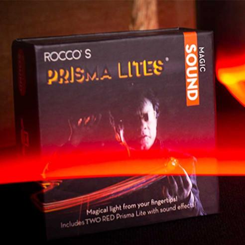 LUCES PRISMA (ROJAS) -CON SONIDO (MAGIC)