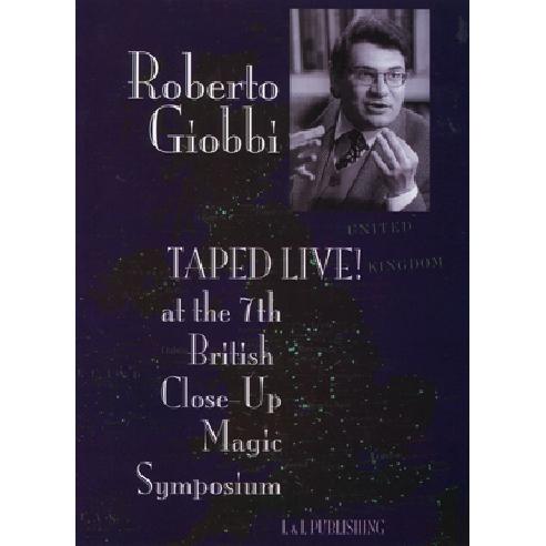 Roberto Giobbi Taped Live video DOWNLOAD